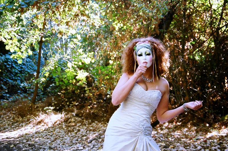 "Avant Garde Shoot ~ ""The Mask"""