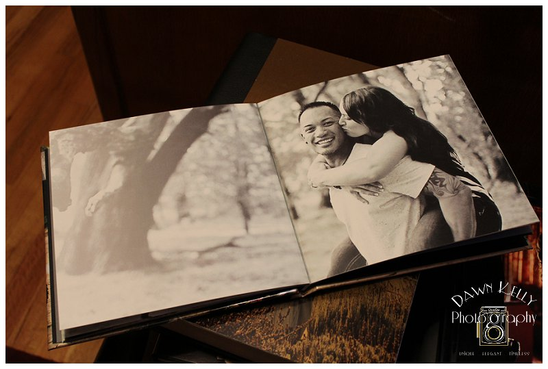 Custom Engagement Guest Books