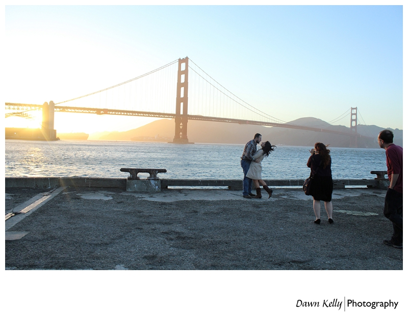 The Perfect Storm of Ridiculousness ~ Behind the Scenes of a San Francisco Engagement Shoot