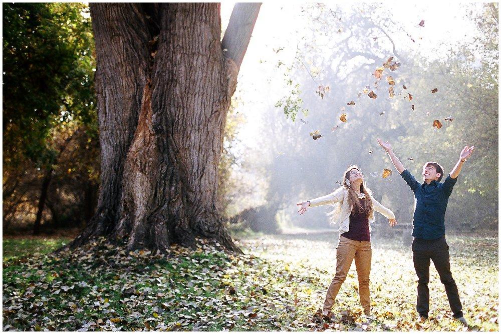 Fall Engagement ~ Ali & Luke