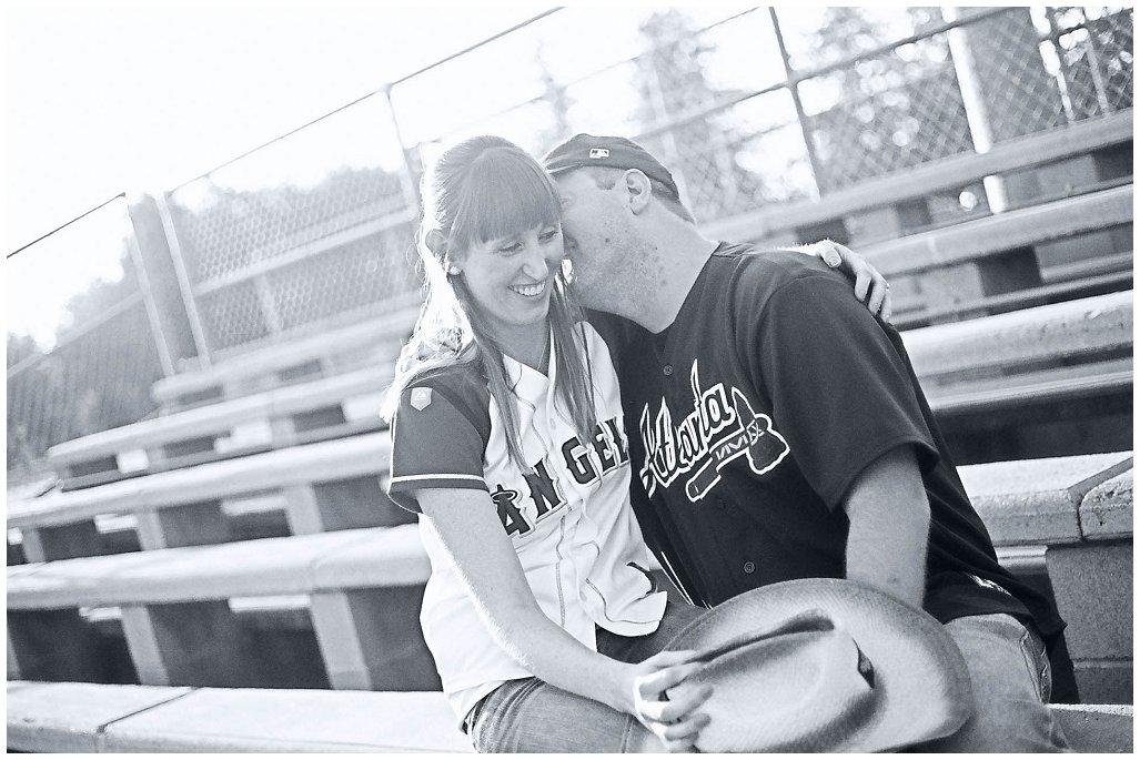 Baseball Engagement ~ Blythe & Mark