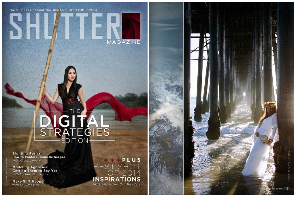 Featured In ~ Shutter Magazine December 2014