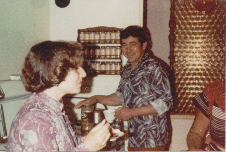 Throwback Thursday ~ My Dad's Swanky Polyester Shirt