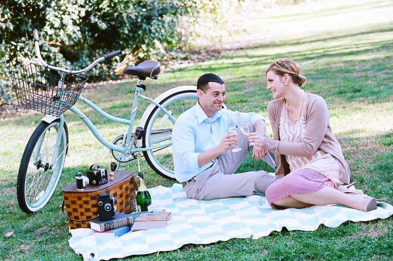 Sarah & Nick's Vintage Engagement