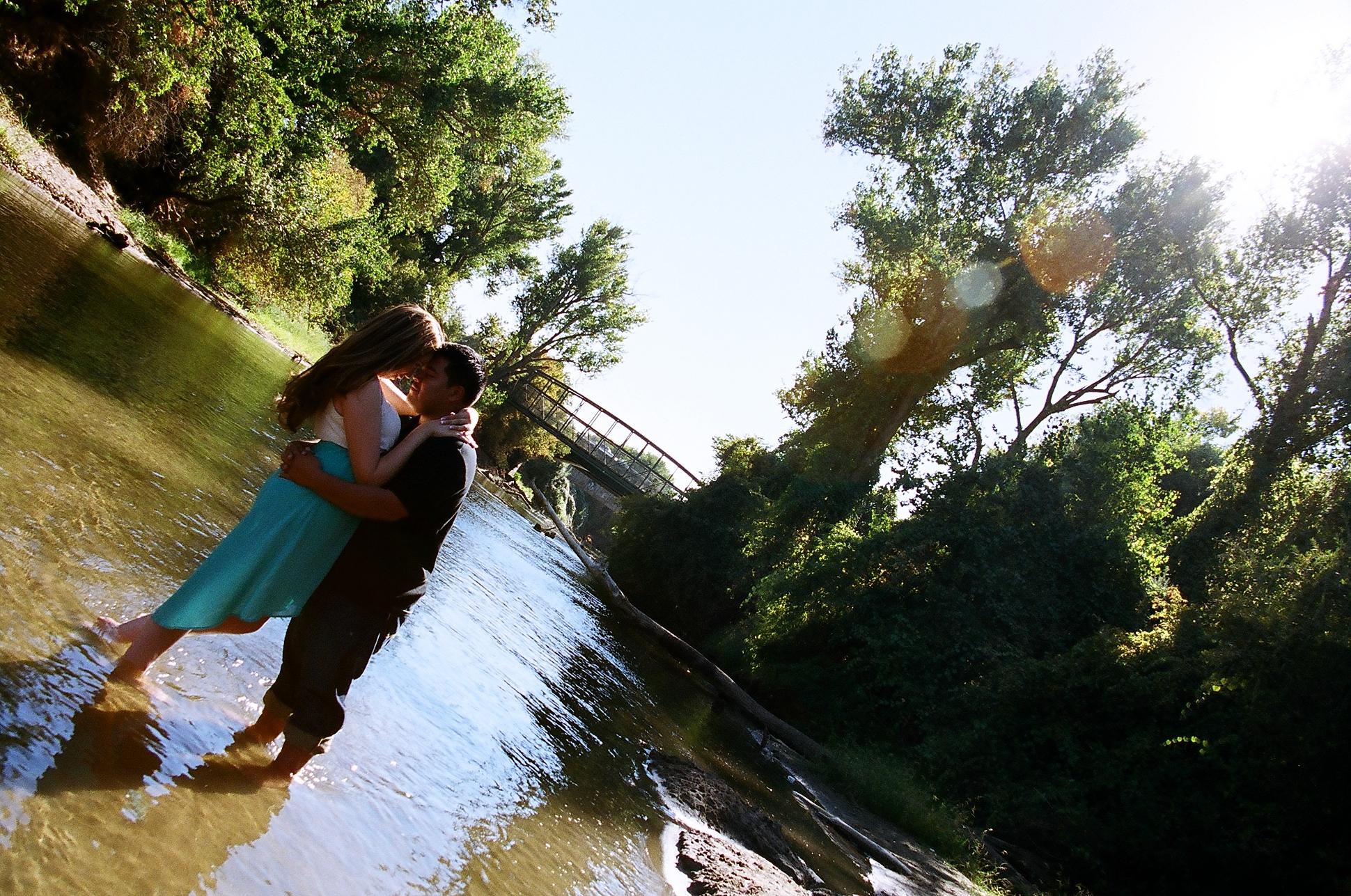 Reina & Jesus ~ Ripon River Engagement