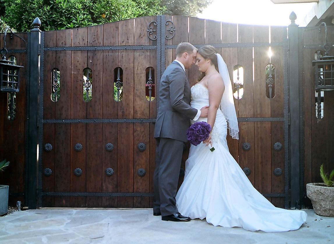 Vintage Gardens Modesto Wedding ~ Brittany & Kyle