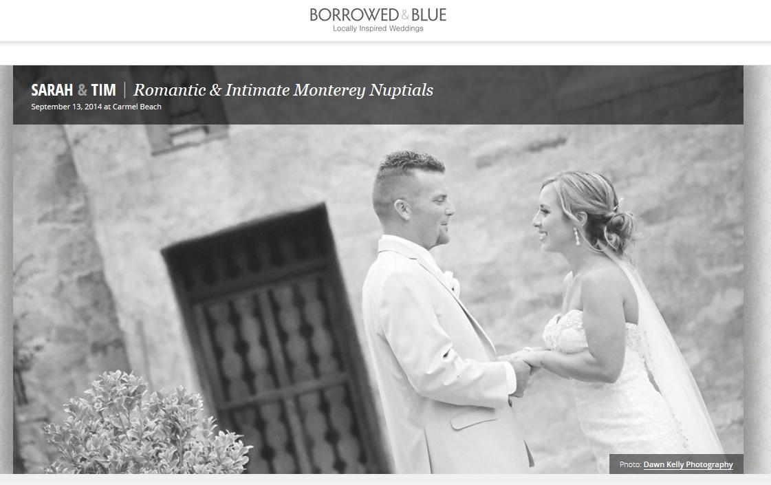 Published! Borrowed & Blue Wedding Blog