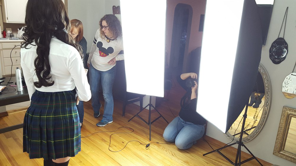 Behind the Scenes of a Commercial Book Cover Photo Shoot