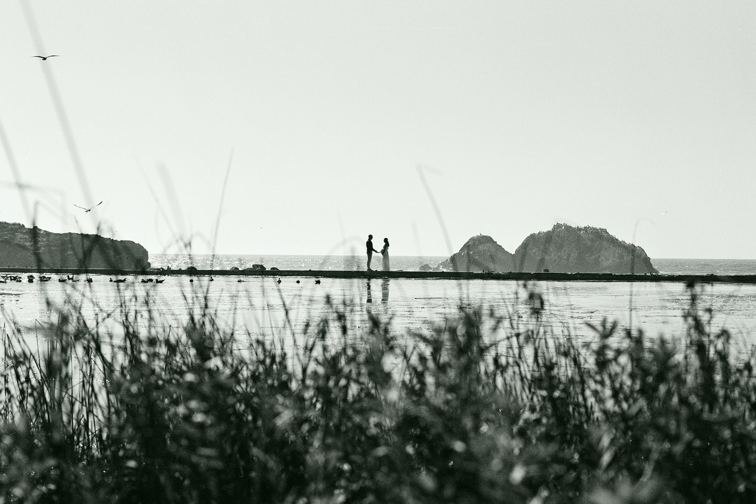 Sutro Baths, San Francisco Maternity Session ~ Alma & Joe