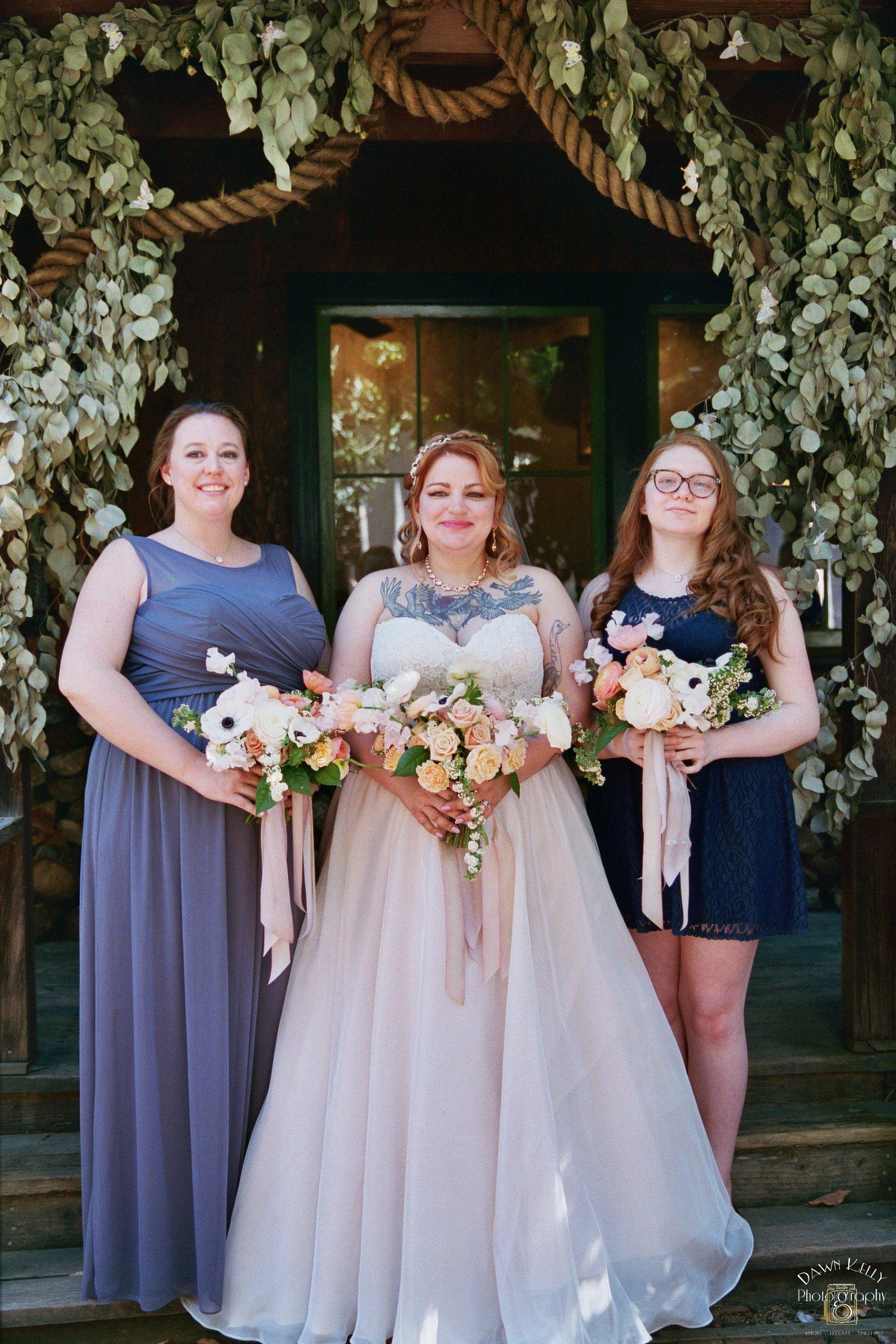 Bridesmaids at Bull Valley Roadhouse