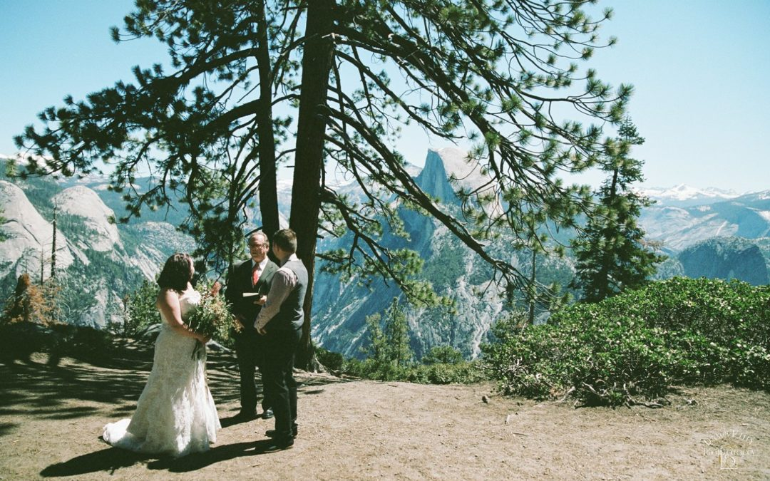 Glacier Point Yosemite Destination Elopement: Jessica + Taylor