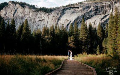 Yosemite National Park Elopement: Megan + David