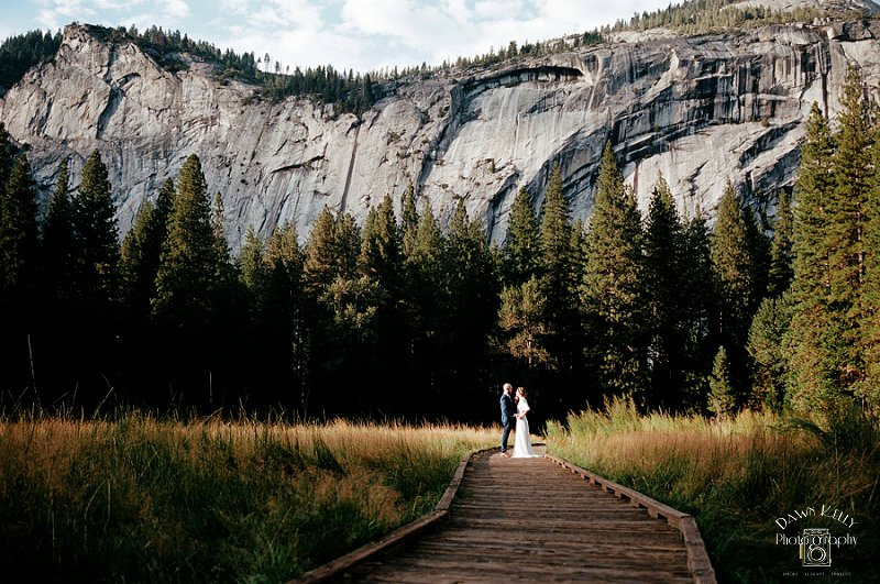 Yosemite National Park Elopement: Megan + David