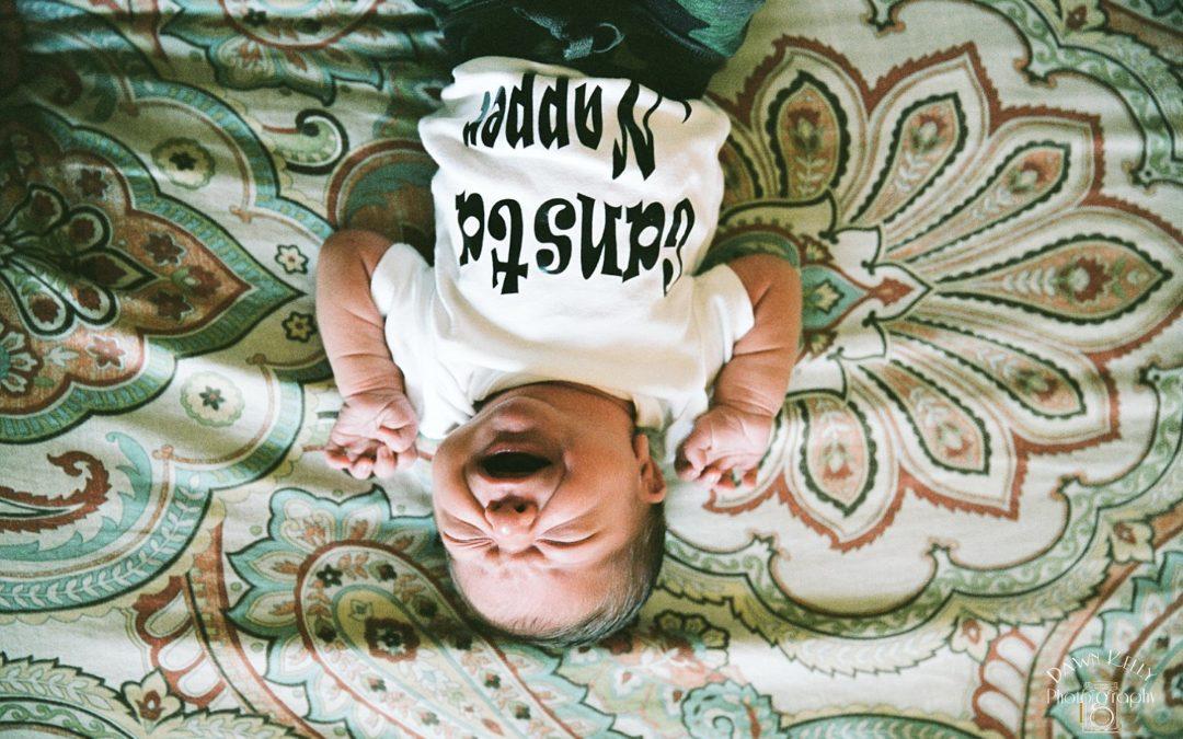 In-Home Newborn Photo Session: Baby Klayton