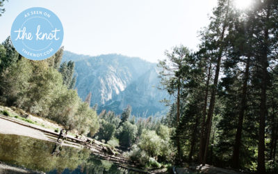 TheKnot.com Feature: Michelle + Brett's Yosemite Elopement