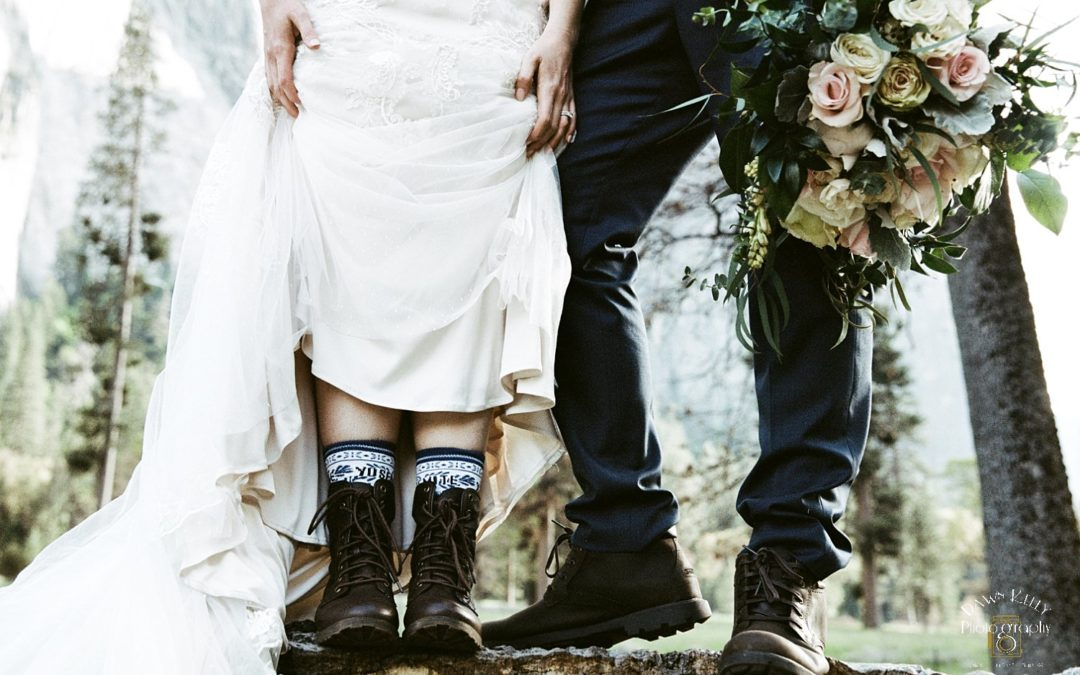 FAQ: What type of footwear should we wear for our Yosemite elopement?
