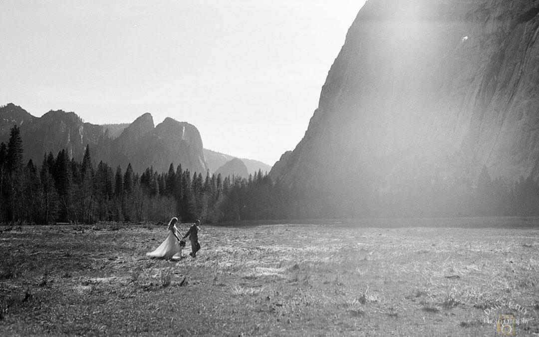 Spring Yosemite Elopement: Hannah + David