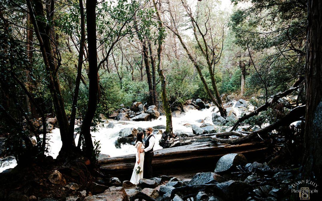 Swinging Bridge Intimate Wedding: Rachel + Nick