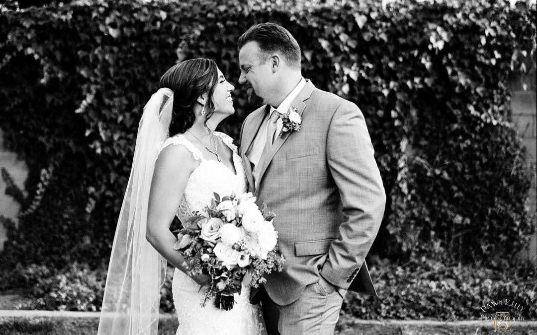 Intimate Modesto Wedding: Ashley + Chris