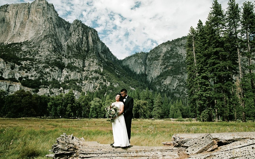 Cathedral Beach Yosemite Elopement: Joanna + Jose