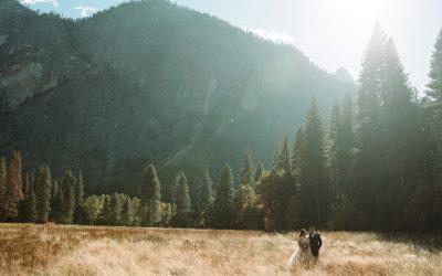 Lower Yosemite Falls Wedding: Dulce + Jonathan