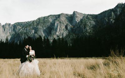 Glacier Point Destination Wedding: Kim + Adam