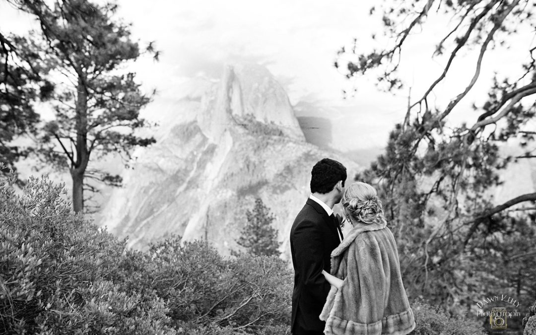 Lower Yosemite Falls Elopement: Ashley + Bryan