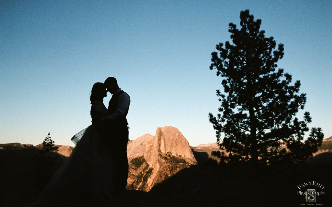 Swinging Bridge Yosemite Elopement: Dani + Chris