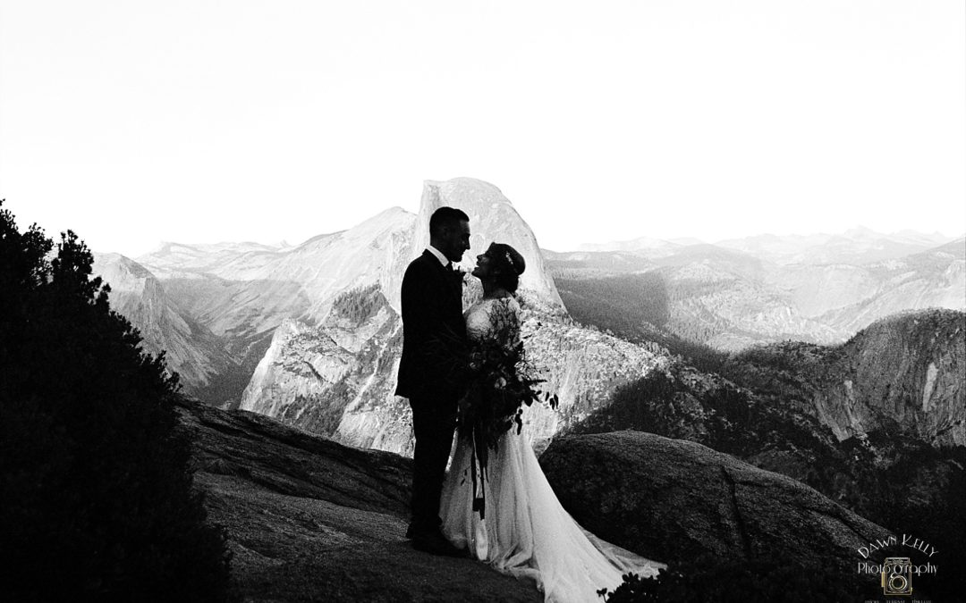 Spiritual Swinging Bridge Yosemite Elopement: Rebekah + Samuel