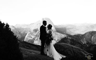 Spiritual Swinging Bridge Yosemite Elopement: Rebekah + Samuel