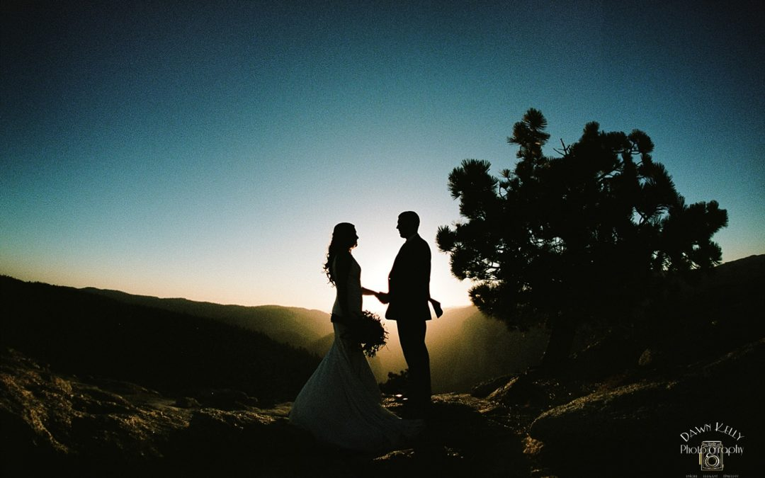 Sunset Yosemite Elopement: Kathrin + Nick