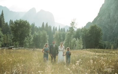 Swinging Bridge Yosemite Wedding: Julie + Stephen