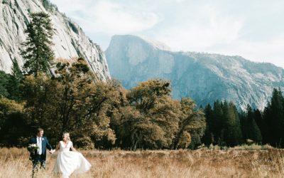 Mariposa Grove Yosemite Elopement: Erica + Eric