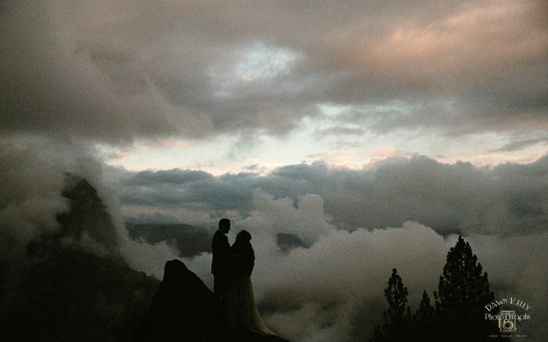 Glacier Point Elopement: Sara + Max