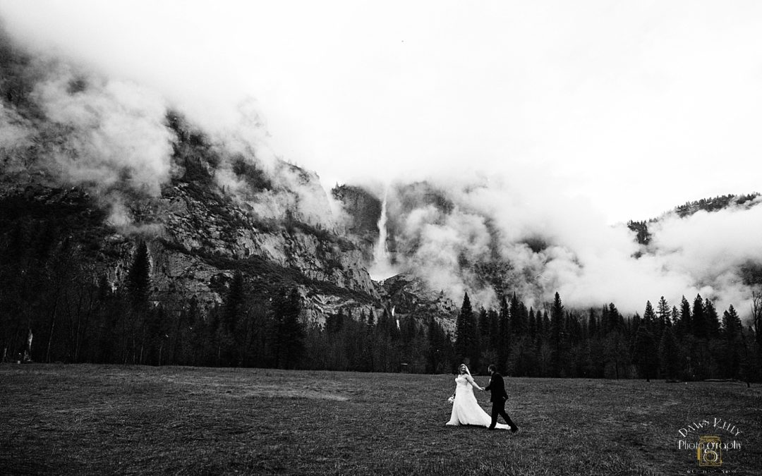 Misty Yosemite Elopement: Carly & Chris