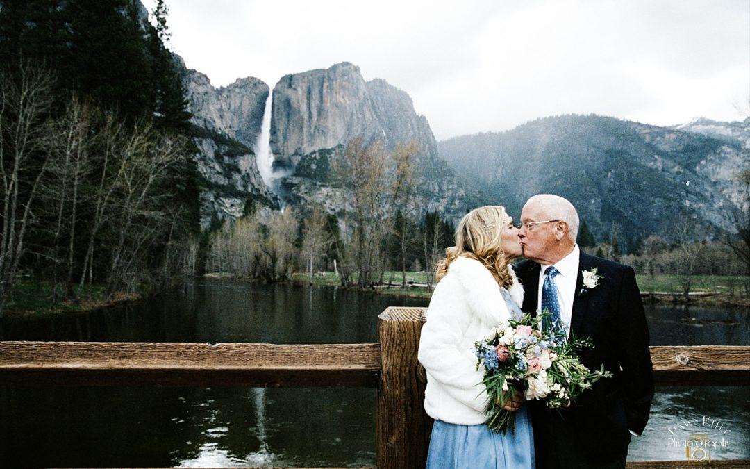 Spring Yosemite Elopement: Sylvia + John