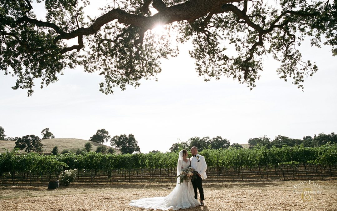Rancho Victoria Vineyard Wedding: Stephanie + Michael