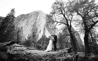 Spring Yosemite Elopement: Amanda + Tyler