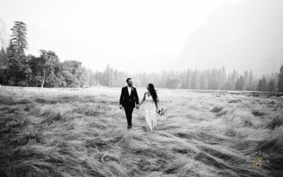 Yosemite Riverbed Elopement: Keri + Chad