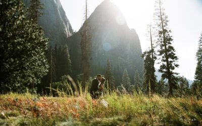 Yosemite Falls Elopement: Hannah + Mitchell