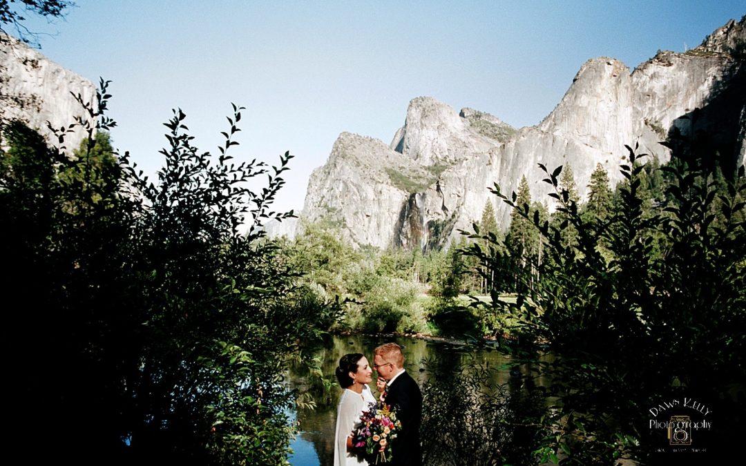 Fall Yosemite Elopement: Angela + Weston