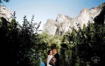Fall Yosemite Elopement: Angela + Weston
