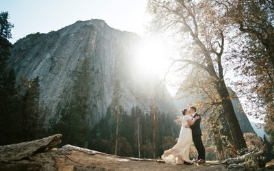 Intimate Yosemite Wedding: Megan + Niall