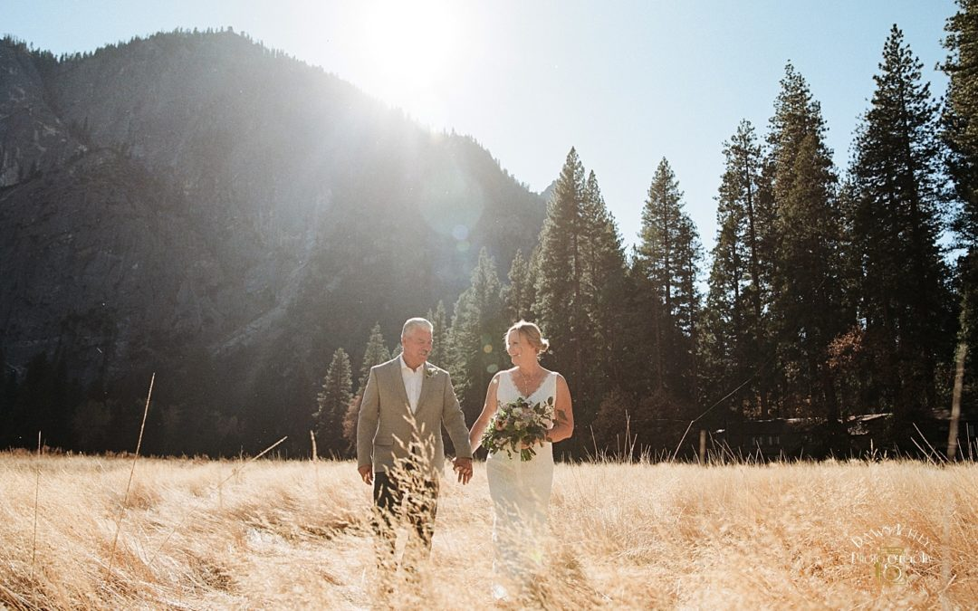 El Capitan Meadow Elopement: Robbie + Richard