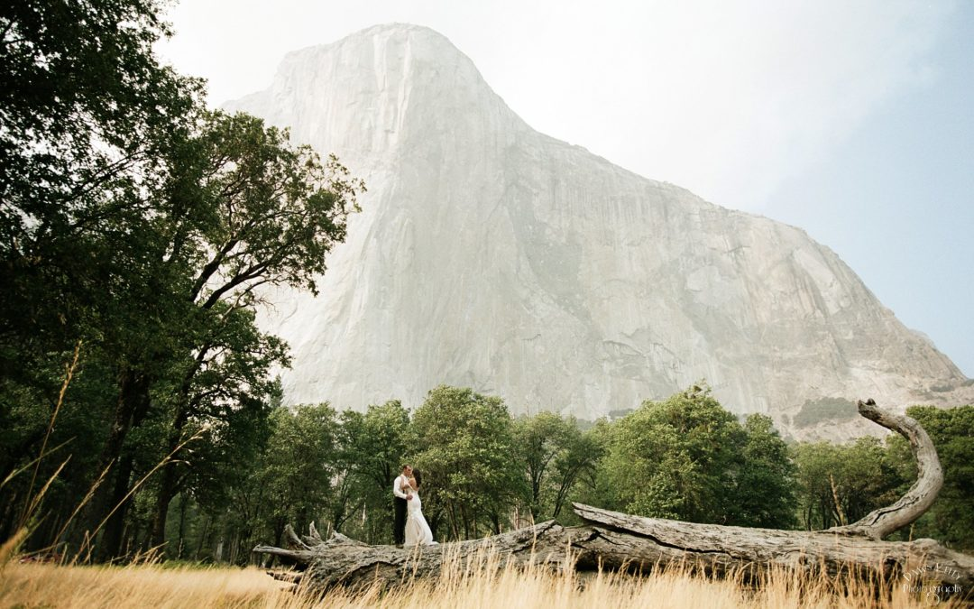Glacier Point Yosemite Elopement: Jayden + Levi