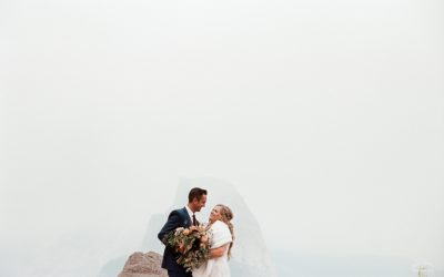 Fall Glacier Point Elopement: Angela & Cody